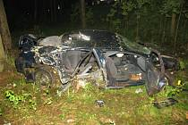 dopravní nehoda se stala na silnici mezi Žďárem na Sázavou a obcí Budeč.