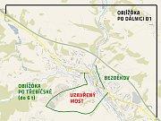 Oprava krajského mostu u pošty ve Velkém Meziříčí a s ní spojené dopravní problémy by měly být o dva měsíce kratší, než Kraj Vysočina a stavební firma původně plánovali. Silnice 602 by měla být uzavřena jen od července do konce října.