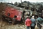 Železniční neštěstí se stalo před padesáti lety na viaduktu u Řikonína.
