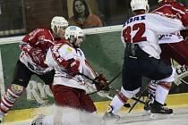 Pouze Plameny dokázaly využít domácího prostředí k bodovému zisku v dalším kole druhé hokejové ligy.