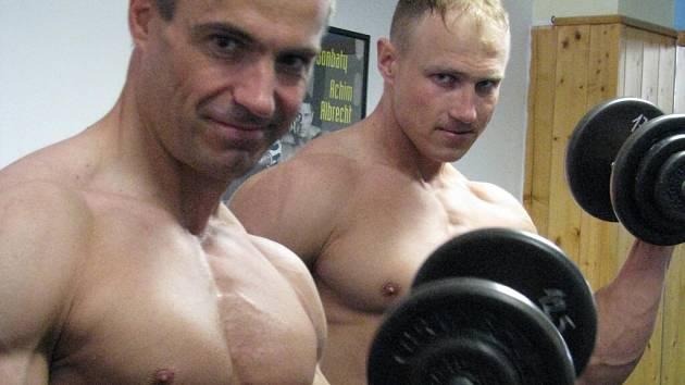 Marka Augustu (vlevo) a Tomáše Vicherka čeká o víkendu Mistrovství republiky v Jihlavě.