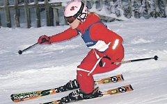 Anita Benešová (na snímku) potvrdila na Harusově kopci roli jedné z favoritek obřího slalomu, který byl do programu dvanáctiboje zařazen vůbec poprvé v historii. Soupeřky s ní musí počítat i v boji o celkový triumf.