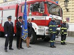 Sbor dobrovolných hasičů byl v Bíteši založen v roce 1872. Nový prapor získali při příležitosti 135. výročí založení sboru v roce 2007.