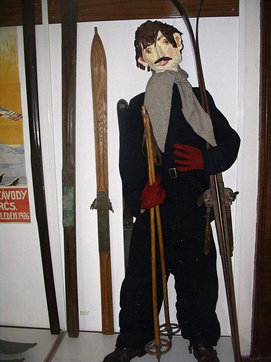Některé lyžařské exponáty už Horácké muzeum ve svých sbírkách má.
