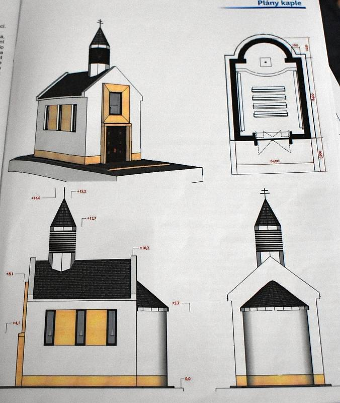 Nová kaple má stát na pozemku církve. Obec ho už před lety prodala za symbolickou korunu.