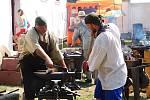 Akce pro veřejnost se ve Šlakhamru konají několikrát do roka, kováři nechybí nikdy.