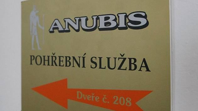 Pohřební služba Anubis.