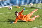 Brankář Michal Lancman, nová posila třetiligových fotbalistů Vrchoviny, si už v dresu Jihlavy vyzkoušel také zápasy ve druhé lize.