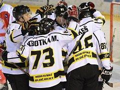 Moravské Budějovice zvítězily po pěti zápasech a posunuly se v druholigové tabulce na 12. místo.