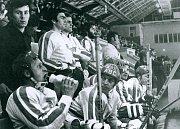 Z historie žďárského hokeje.