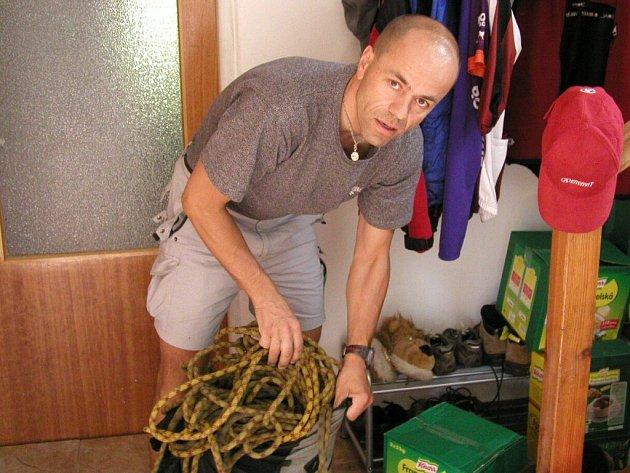 Radek Jaroš se znovu chystá na K2.