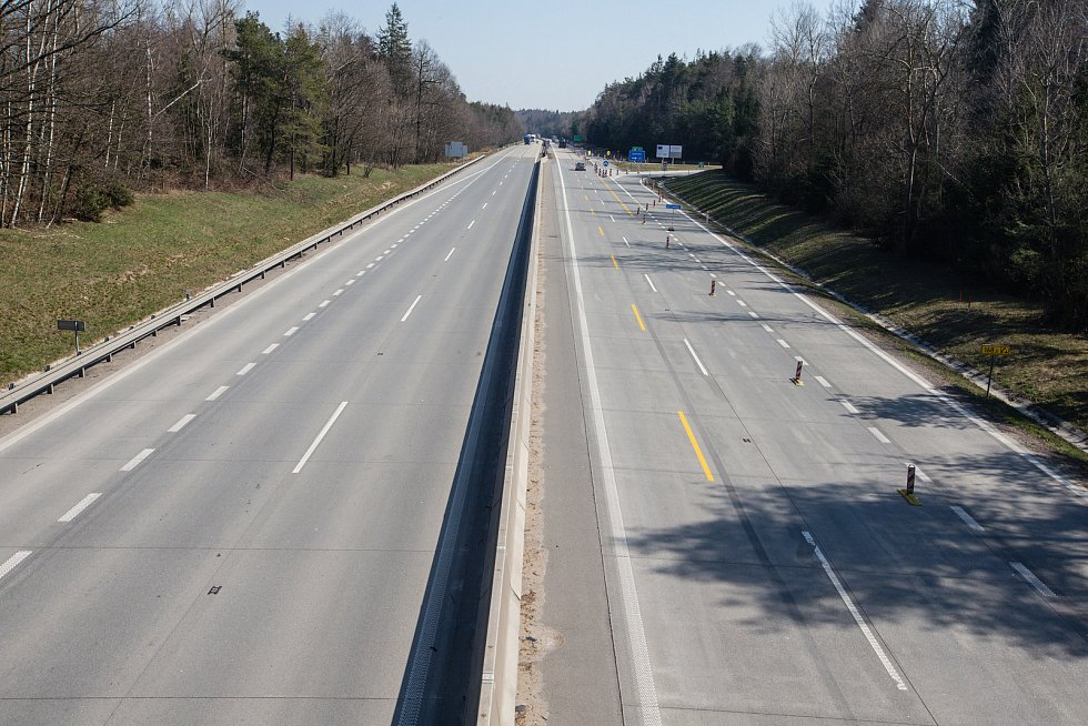 Dálnice D1, ilustrační foto.