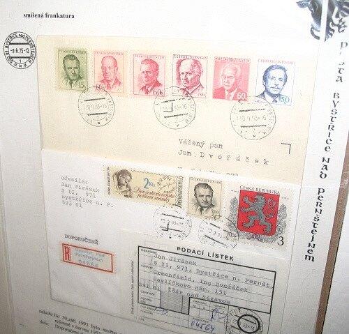 Šest prezidentů na jedné obálce spatříte v muzeu v Bystřici nad Pernštejnem.