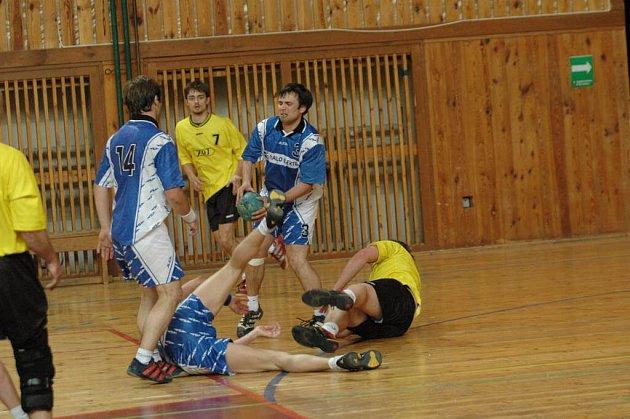 Velké Meziříčí ve druhém poločase srazilo Zubří na kolena.