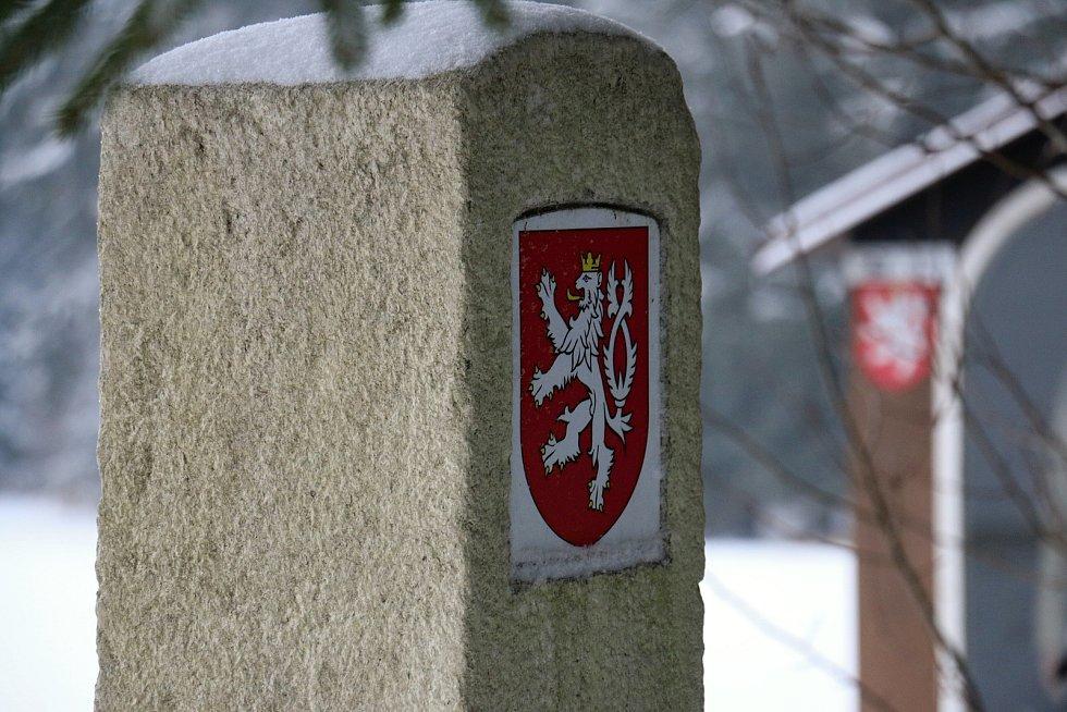Hranice Čech a Moravy.