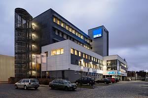 Sídlo firmy DEL ve Strojírenské ulici.