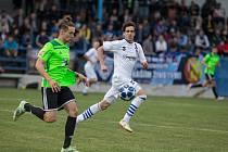 Fotbalové utkání MSFL mezi SFK Vrchovina a SK Líšeň.