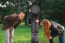 Jukebox sloužící k odposlechu poezie bude v letních měsících k dispozici i milovníkům veršů v Novém Městě na Moravě. Téměř dva metry vysoká zahnutá roura nabídne posluchačům také díla novoměstských básníků.