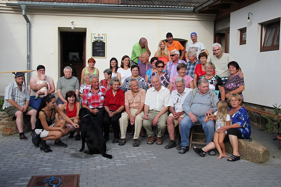 V Habří se uskutečnilo rodinné setkání.