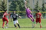 Po zápase v Pelhřimově byli na koni domácí hráči. Velké Meziříčí udolali 2:1.