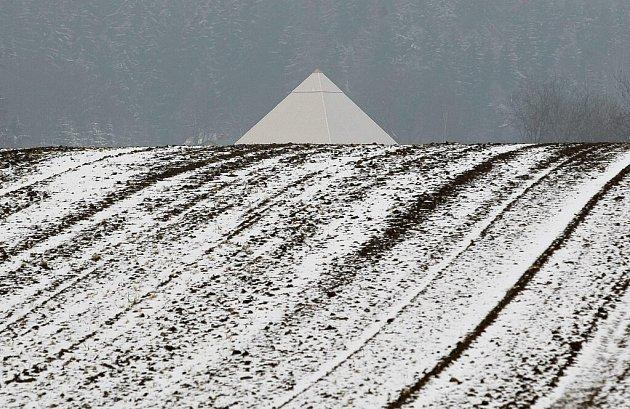 Největší relaxační pyramidu v Česku najdou lidé v Bohdalově na Žďársku.