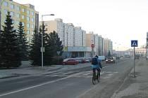Masarykova ulice v Novém Městě.