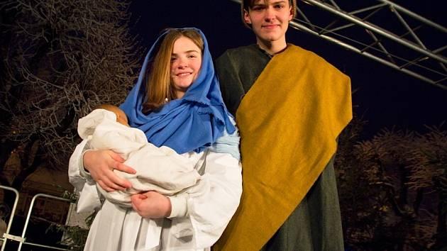 Ve Žďáře opět ožil příběh narození Ježíše Krista