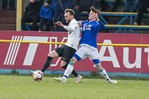Fotbalové utkání divize D mezi FC PBS Velká Bíteš a FC Žďas Žďár nad Sázavou.