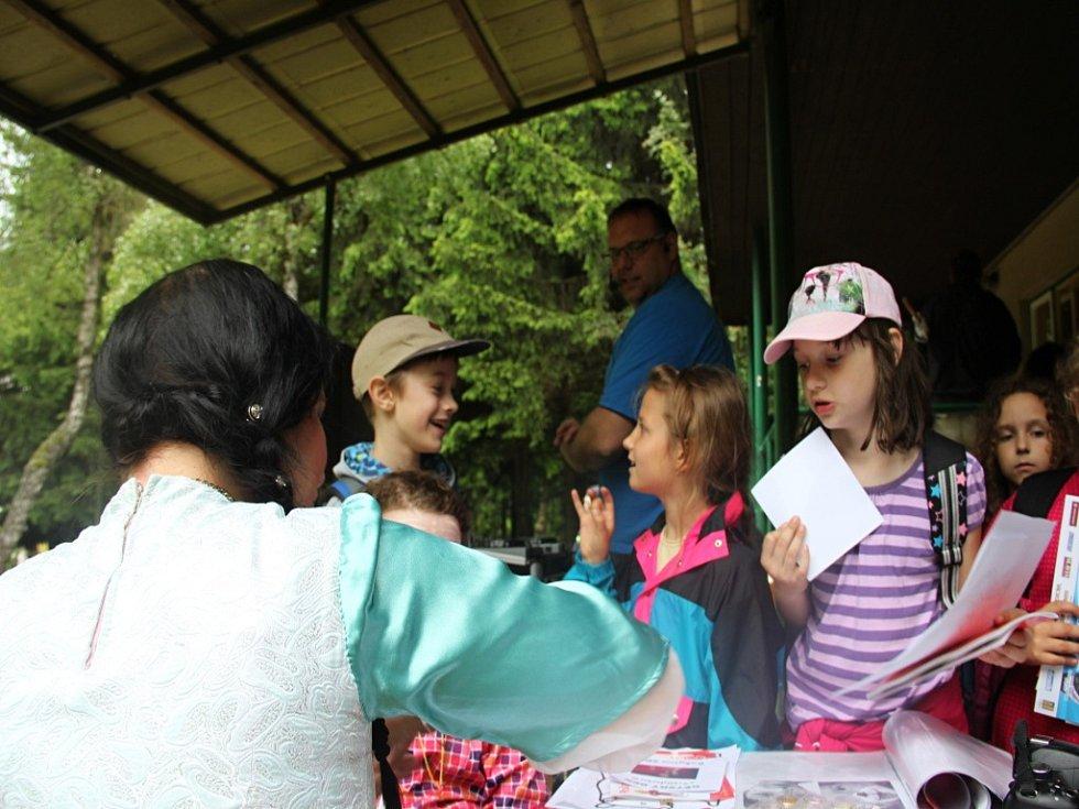 Dětský den v Rokytně se nesl ve znamení návštěvy Vratislava II. z Pernštejna.