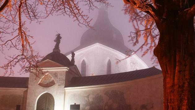 Kostel svatého Jana Nepomuckého je zapsán v seznamu UNESCO od roku 1994.