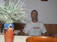 Ve žďárském azylovém domě se letos ocitl i dvaapadesátiletý Vlastimil Tesařík.