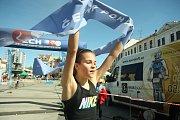 Kateřina Mičková dosáhla v kategorii starších žákyň na celkové druhé místo v Českém poháru v aquatlonu.