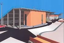 Jednou z variant, kterou má město připraveno, je vestavět tréninkovou stěnu pod tribunu D ve Vysočina Areně.