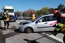 Nehoda na dálnici D1. Ilustrační foto.