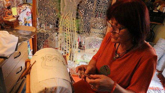 Libuše Doskočilová si u domu v kůlně otevřela soukromé muzeum