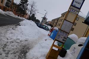 Fotografie ze žďárských ulic pořízené v průběhu tohoto a minulého týdne.
