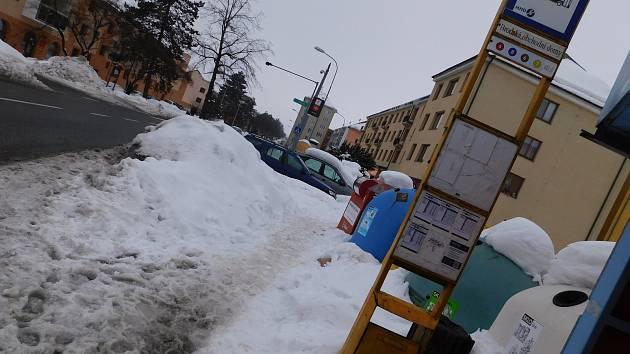 OBRAZEM: Ve Žďáře nepočítali s ladovskou zimou
