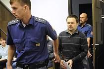 Miloš Straka u soudu.