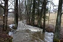 V Kuklíku byl vyhlášen druhý stupeň povodňové aktivity.
