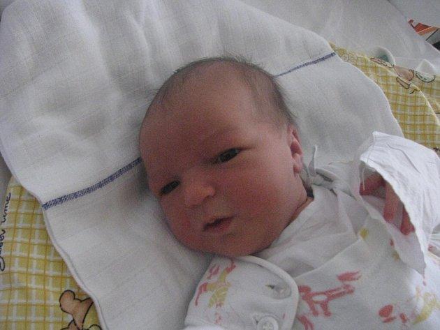 Lucie Vařejková, Pikárec, 9.3. 2009, 3900 g, 54 cm
