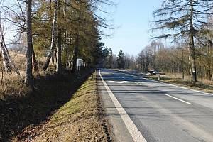 Nová trasa by odbočila ze silnice I/19 u zahrádkářské kolonie.