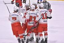 Dostatek radosti si v poslední době užívají hráči i fanoušci hokejového Žďáru nad Sázavou (na snímku). Foto: Petr Nedvěd