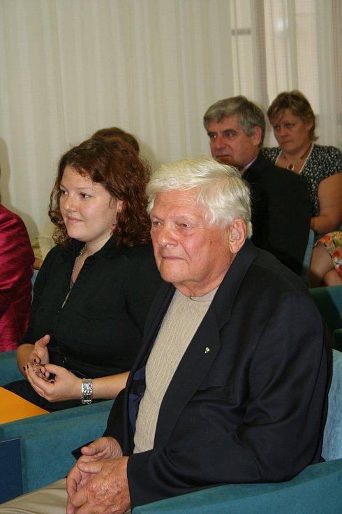 Jiří Brady s dcerou Larou.
