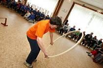 Ani deštivé počasí nezhatilo program 35. Sportovních her pro mládež se středním stupněm mentálního postižení, které se po celý uplynulý týden konaly v areálu Dětského tábora Zubří.