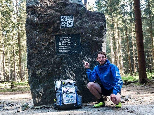 Václav Malinský má za sebou další charitativní pěší cestu, tentokrát po hranicích bývalého Československa.