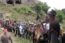 Dobývání hradu sledují tisíce lidí každý rok.