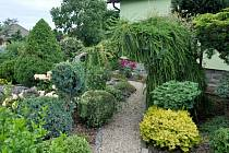 Zahrada moraveckého zahradníka je pastvou pro oko.