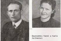 Sourozenci Karel a Karla Jaitnerovi z Cikháje