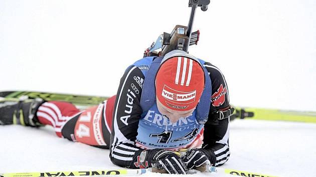 Z mistrovství světa v biatlonu juniorů a dorostu.