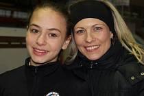 Kateřina Beránková představila ve Žďáře svou talentovanou svěřenkyni Nicole Kubišovou.